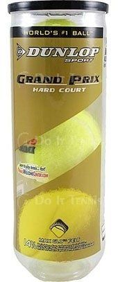Dunlop Grand Prix Hard Court (Case) by Dunlop. $74.99. This is the most durable and best made ball on the market! The Grand Prix Series offers the ultimate in performance and durability. A special mix of 14 ingredients make up the secret rubber core formula which is combined wth the finest woven felt to produ