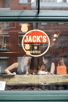 South Street Seaport Jack's Coffee Jack's Stir Brew red black white New York City coffee Coffee Cafe, My Coffee, Coffee Drinks, 1950 Diner, Café Bistro, Deco Cafe, Espresso, Café Bar, Coffee Places
