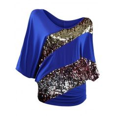 GET $50 NOW | Join Dresslily: Get YOUR $50 NOW!http://m.dresslily.com/sequin-batwing-sleeve-top-product1998742.html?seid=UMO9n71v0Ov8Q5f3S84t5Of3SK