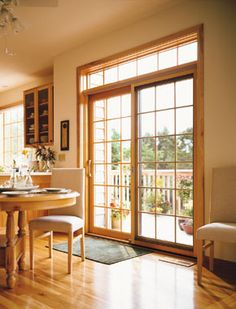 Pella Wood Windows & Patio Doors - Learn about Windowrama's window and door products for your next home or commercial replacement project. Transom Windows, Wood Windows, Windows And Doors, Pella Windows, Kitchen Windows, Panel Doors, Best Sliding Glass Doors, Wooden Sliding Doors, Glass Door Repair
