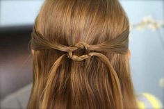 The Knotted Pullback | 23 Five-Minute Hairstyles For Busy Mornings