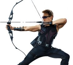 what does hawkeye's bow look like | ... The costumes and characters of The Avengers: Black Widow and Hawkeye