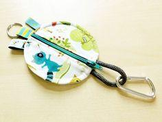 kostenlose Anleitung und Schnittmuster Kopfhörertasche - super für Reste