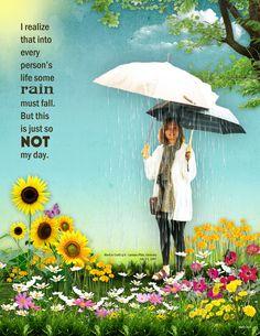 Art Journaling - Rain