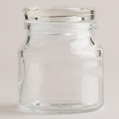 One of my favorite discoveries at WorldMarket.com: Round Spice Jars with Lids, Set of 6