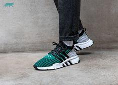 Adidas // adidas Equipment Support Mid ADV (Core Black / Core Black / Sub Green)