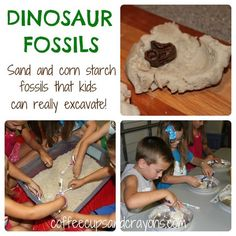 Dinosaur-Fossils-And-Digging-Activity