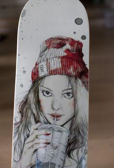 Image of Skateboard deck