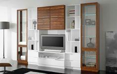 Tv Wall Design, Tv Unit Interior Design, Tv Unit Furniture Design, Living Room Wall Units, Tv Cabinet Wall Design, Plafond Design, Wall Tv Unit Design, Living Room Tv Wall, Furniture Design