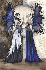 fairy sisters  would make a cool tattoo but would be a lot of work