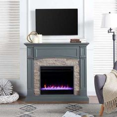 Seneca Color Changing Media Fireplace – Gray - Southern Enterprises up your look with this ambiance-inspiring, color changing fireplace. The cool gray hue and linear composition define updated traditional chic. White Laminate Flooring, Best Laminate, Vinyl Flooring, Flooring Ideas, Bathroom Flooring, Find Furniture, Living Room Furniture, Electric Fireplace Media Center, Media Fireplace