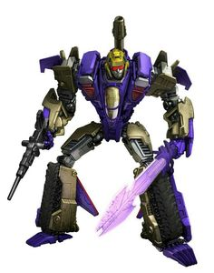 Transformers generations Blitzwing (yes, what a nice g1 face)