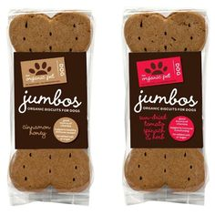 Organic Pet Biscuits for dogs #packaging