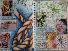 New holiday page Textiles Sketchbook, Gcse Art Sketchbook, Sketchbook Ideas, Sketchbook Inspiration, Composition, Natural Form Art, Art Diary, Art Folder, Sketch Books