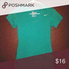 Ladies XS Dri-Fit Cotton Tee If you love work out clothes, be sure to check out my closet, I have a bunch in all sizes. Plus, I offer a bundle discount!! Thanks for checking out my listing :) Nike Tops Tees - Short Sleeve