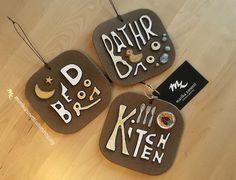 Arredo casa  cucina camera bagno  Tris di LaBottegadimarika