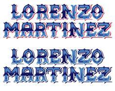 Lorenzo Logo by Berto Legendary H, via Flickr