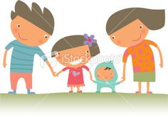 Happy Family Royalty Free Stock Vector Art Illustration http://www.istockphoto.com/stock-illustration-10179678-happy-family.php?st=9321716