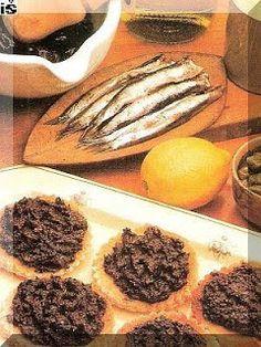 Praktická Kuchařka: Pomazánka ze sardelek a oliv