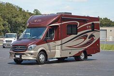 List of Mercedes Benz Motorhomes Class C & Class B+ RVs
