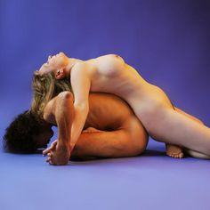 couple yoga poses Nude