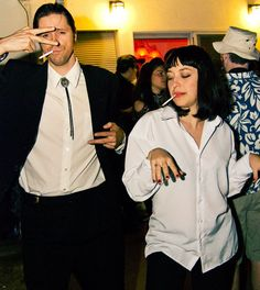 Charming The 25 Best U002790s Halloween Costumes Via Brit + Co. Easy Couple Halloween  Costumes