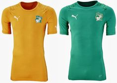 Ivory Coast 2014 World Cup Team Jersey Wallpaper