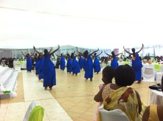 Traditional Kinyarwanda dancing will take place during the Gusaba and on the wedding day.