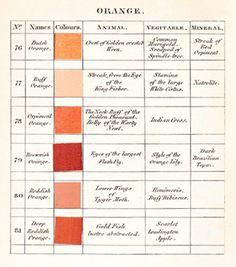 Werner's Nomenclature - Orange