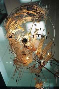 sara sze #art #sculpture #installation