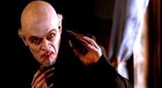 Willemstad Dafoe as Max Schreck playing Noaferatu. Premise of the movie: What if Schreck was not an actor but a real vampire?