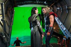 20 Behind the Scenes Photos of Heroes and Villains Getting Along — GeekTyrant