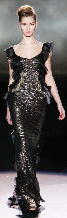Badgley Mischka Fall Winter 2013 Mercedes-Benz Fashion Week