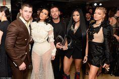 Kim Kardashian at the Fashion Los Angeles Awards.