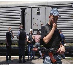 MH17 Victims Put On Refrigerated Train In Torez Final Destination Unknown