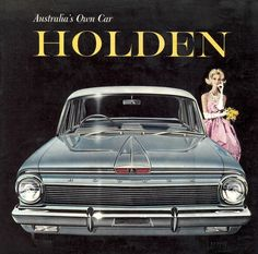 Poster/Artwork for EJ Holden Premier Sedan. Ford Falcon, Vintage Advertisements, Vintage Ads, Vintage Designs, Holden Premier, Holden Australia, Australian Cars, Car Advertising, Guzzi