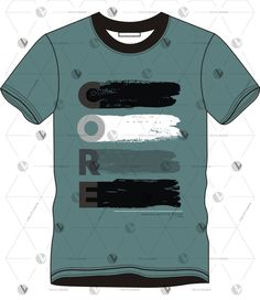 Free vector download Free T Shirt Design, Free Design, Shirt Designs, Vector Free Download, Design Files, Custom T, Vector Design, Gradient Color, Pattern Design