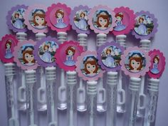 Princess Sofia the First bubble party bubbles, I could make that!
