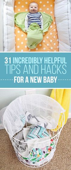 31 Incredibly Helpful Tips And Hacks For A New Baby