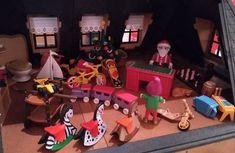 L'atelier du père noël, un diorama playmobil de Dominique Béthune