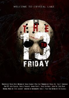 POSTERS FRIDAY THE 13 MOVIE - Buscar con Google