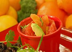 Recipe and how-to video: Mixed Winter Citrus and Avocado Salad with Cilantro and Mint | PCC Natural Markets