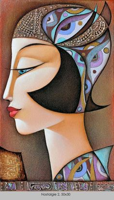 Nostalgie II, by Wlad Safronow - Secession (ca 2000)                                                                                                                                                                                 Mehr