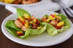 Shrimp and Mango Lettuce Wraps {20-Minute Meal}