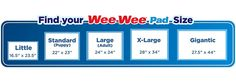 """Pet Training and Puppy Pads 30 Count 22"""" x 23"""" Pad Four Paws Wee-Wee #FourPaws"""