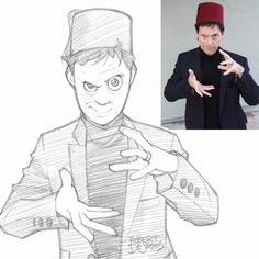 Un illustrateur s'amuse à dessiner le portrait des gens version manga (image)