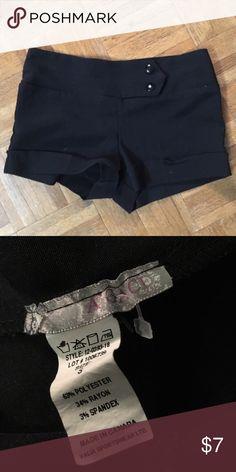 Agaci black shorts Never worn before. a'gaci Shorts
