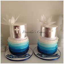Both cakes together :)