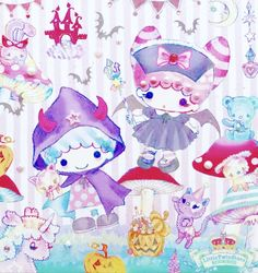 Sanrio Characters, Fictional Characters, Sanrio Wallpaper, Little Twin Stars, Cute Wallpapers, Princess Peach, Stationary, Diy And Crafts, Hello Kitty