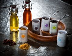 Our special flavoured oils